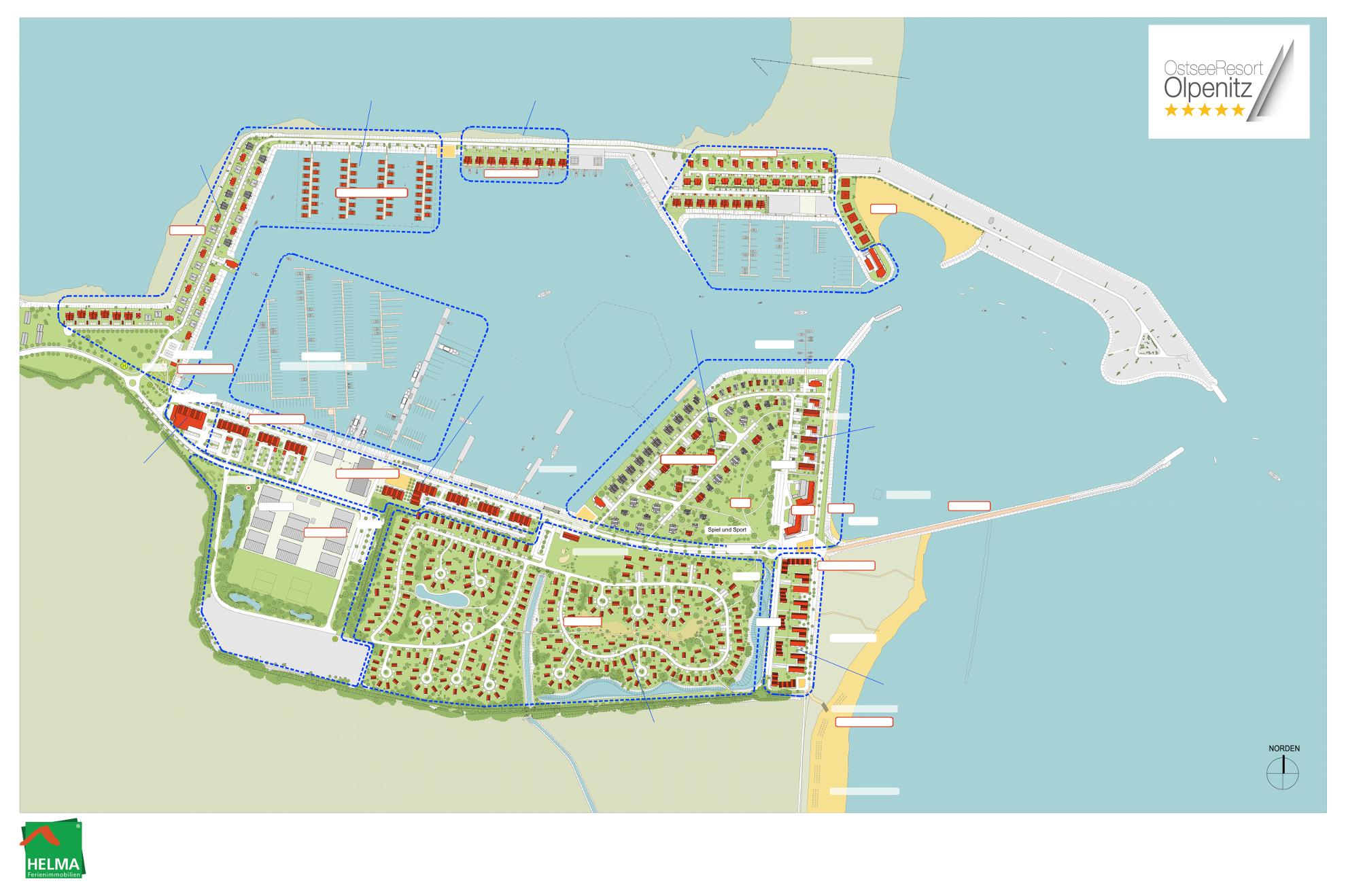 Port Olpenitz - Plan